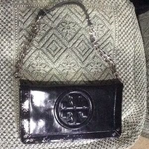 Tory Burch Clutch with removable shoulder strap